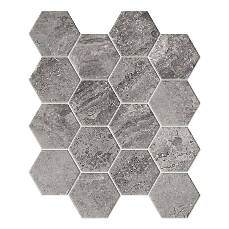 Hexagon 3""