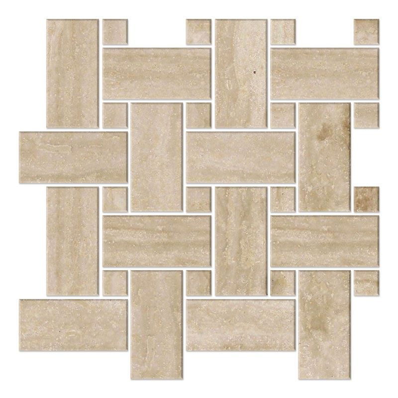 Light Travertine Vein Cut
